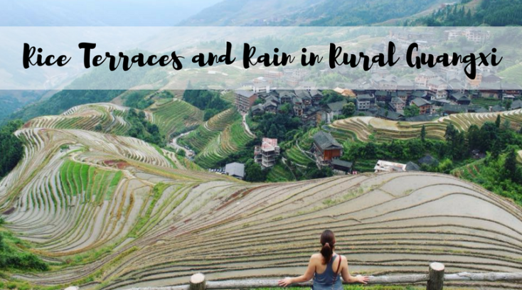 Rice Terraces and Rain in Rural Guangxi